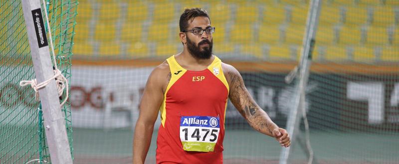 El atleta valenciano, Kim López, aspira a medalla en los Juegos Paralímpicos. Fuente: RFEA