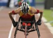 Santiago Sanz queda 5º y logra diploma paralímpico