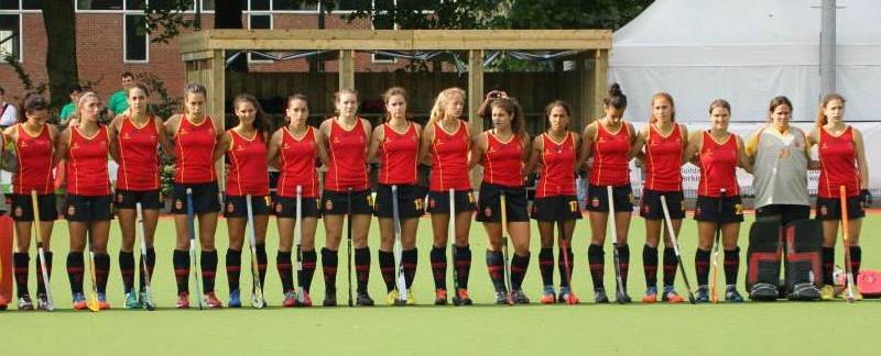 La Selección femenina sub-21 en 2014. Fuente: AD