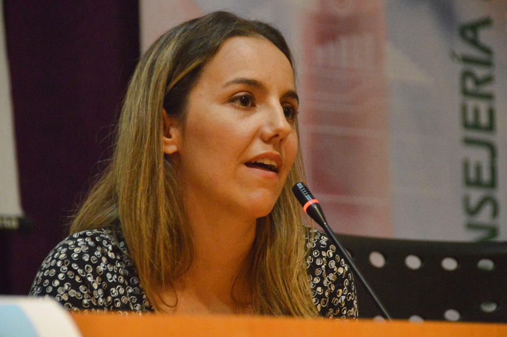 Laura Pérez Torres. Fuente: Marcel Sanfelice