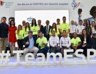Homenaje a los medallistas olímpicos y paralímpicos de Río 2016 en el CAR de Madrid