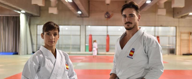 Sandra Sánchez y Damián Quintero. Fuente: CSD