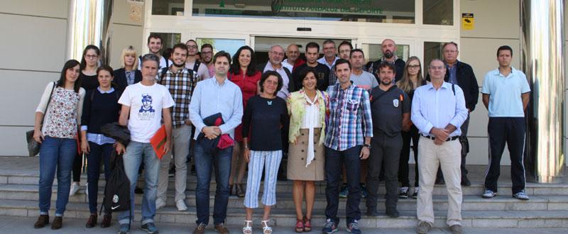 Asistentes a la I Jornada Comunica Deporte en el IAD. Fuente: IAD
