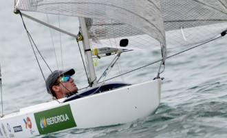 Rafa Andarias, campeón de Europa de Vela Paralímpica 2.4mR