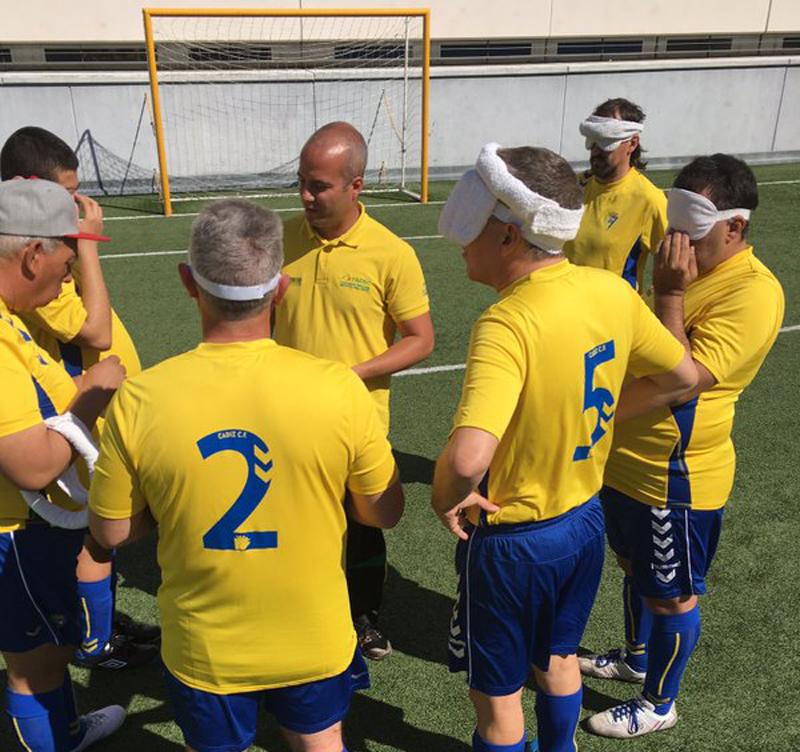 El equipo de Cádiz. Fuente: AD