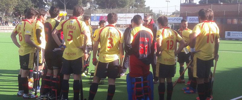 La selección masculina española de hockey hierba. Fuente: Rfeh