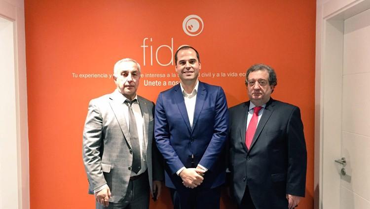 Alejandro Blanco (izquierda). Fuente: COE