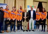 La selección holandesa de natación, en Málaga