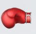 guante boxeo