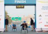 Rafa Botello gana al sprint la maratón de Dubai