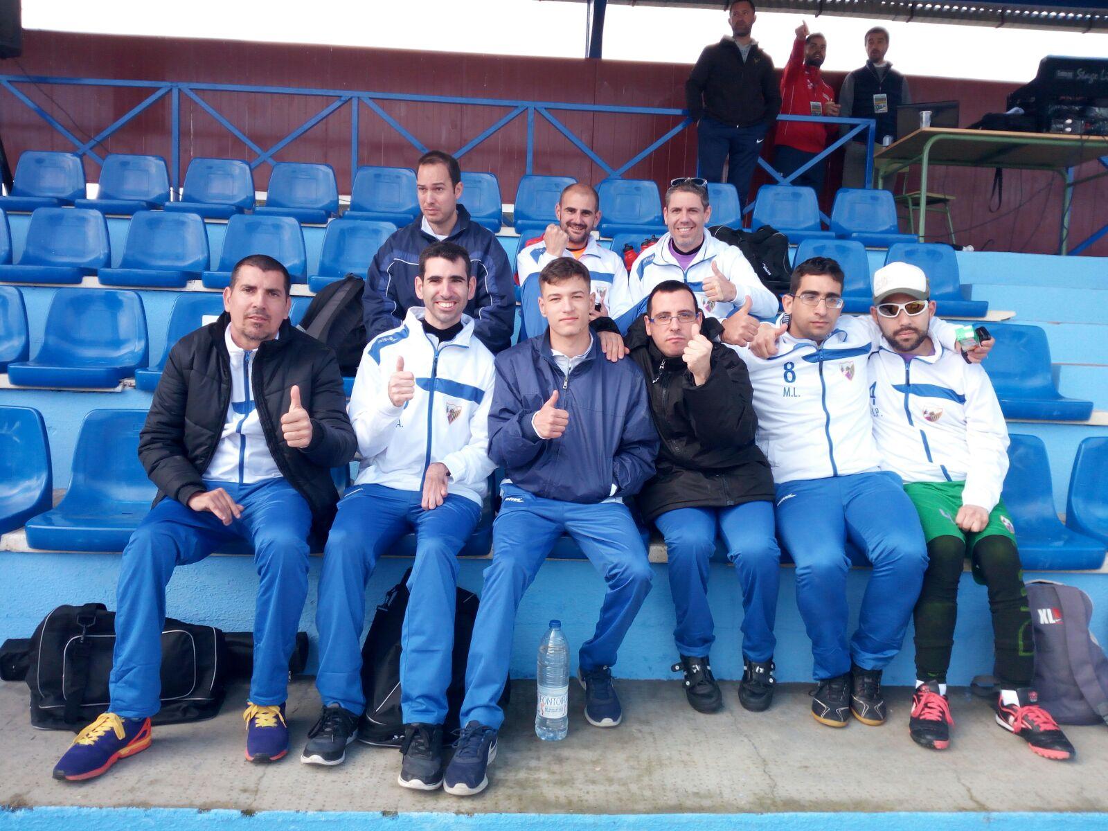 El equipo de AMDDA Málaga.