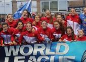 Las 'redsticks' conquistan la World League en Valencia