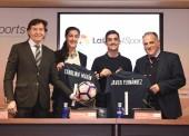 LaLiga patrocinará a Carolina Marín y Javier Fernández