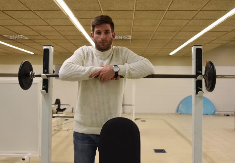 Marcos Poggi, miembro de la Selección Absoluta de Rugby. Fuente: CSD.