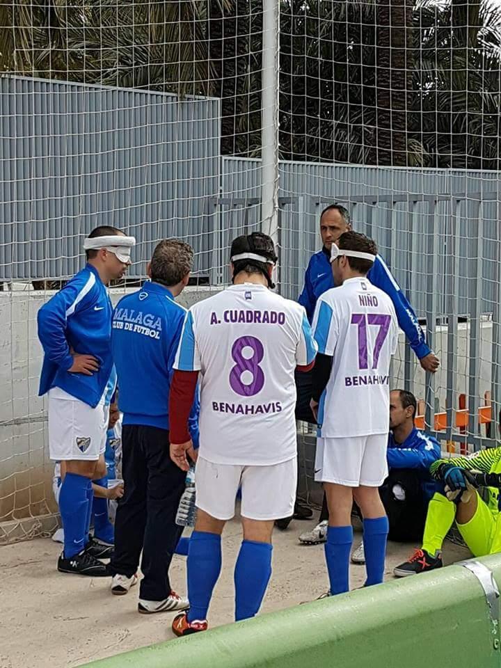 El ONCE Málaga en Alicante. Fuente: AD