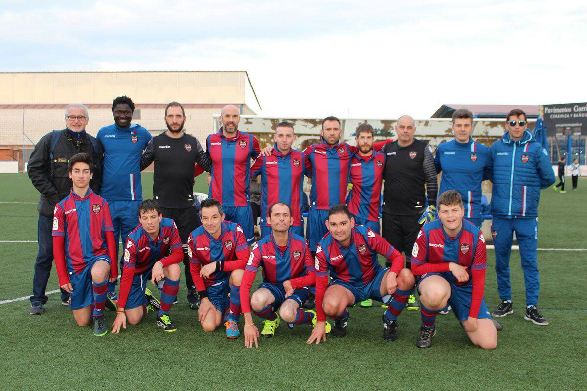 El equipo de Levante UD.