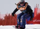 Astrid Fina logra la plata en banked slalom