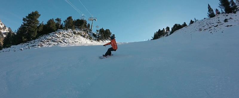 La rider española, Astrid Fina, peleará por una medalla en el Mundial de snowboard paralímpico. Fuente: AD