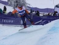 Astrid Fina roza el podio en el Mundial de snowboard