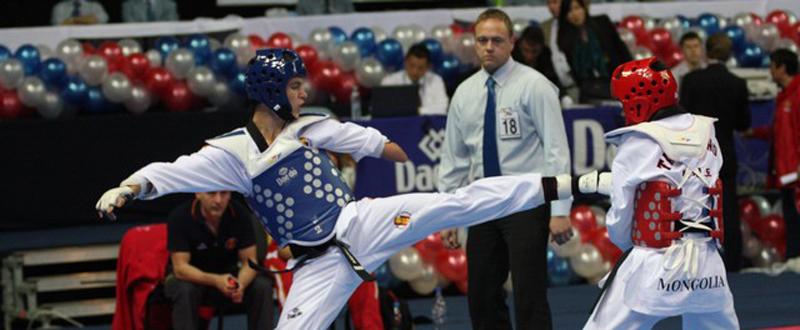 El taekwondista canario, Aythami Santana, triple campeón del mundo y dos veces de Europa. Fuente: Fetaekwondo