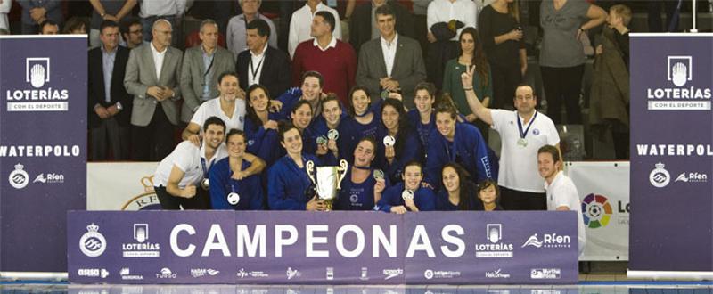 El CN Sabadell conquista su 13ª Copa de la Reina de waterpolo. Fuente: RFEN