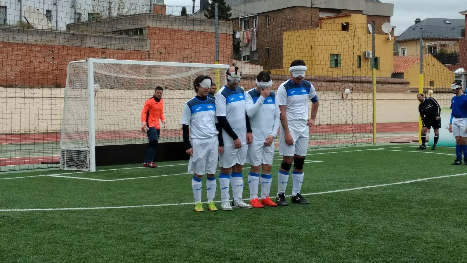 El equipo de ONCE Madrid. Fuente: AD