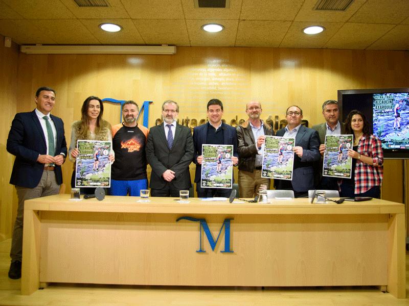 Presentación Ultra Trail Alcaucín Axarquía en Málaga. Fuente: Avance Deportivo