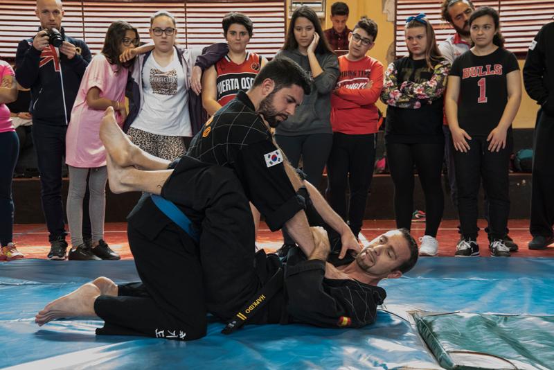 Hapkido y Mujer. Fuente: FT/Avance Deportivo