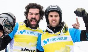 Regino Hernández y Lucas Eguíbar, segunda plata para España
