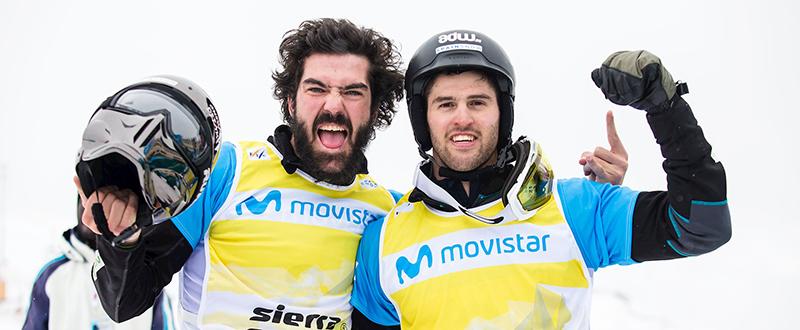 Regino Hernández y Lucas Eguíbar, plata mundial.