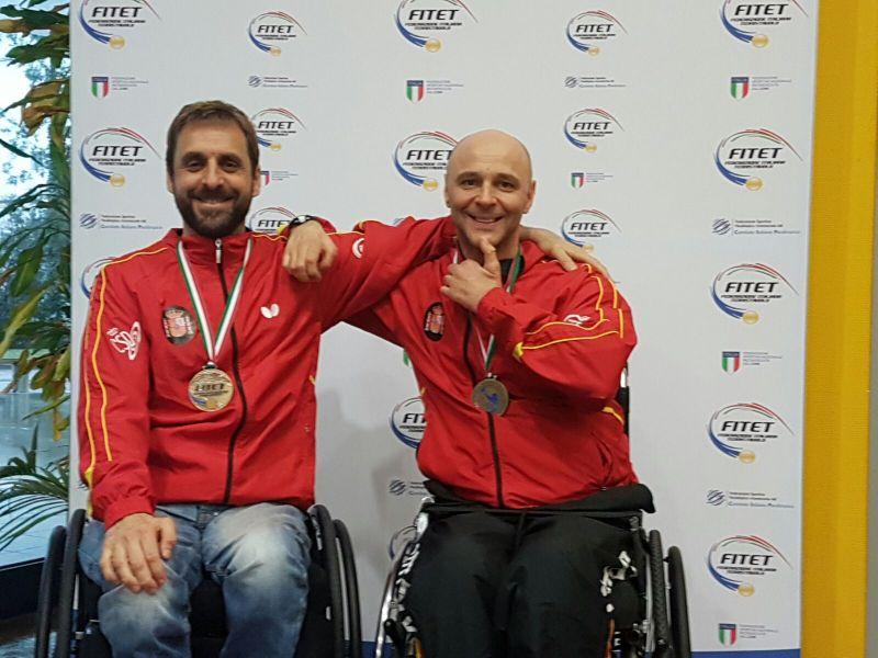 Íker Sastre y Miguel Ángel Toledo. Fuente: RFETM