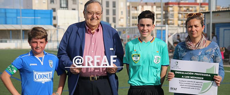 Real Federación Andaluza de Fútbol. Fuente: Rfaf