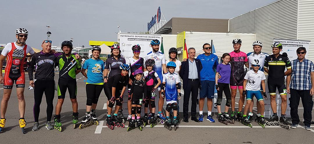 Campeonato de Andalucía de Patinaje de Velocidad en Pista. Fuente: AD