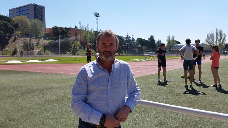 Fernando Gutiérrez, director del Centro de Medicina del CAR de Madrid. Fuente: CSD