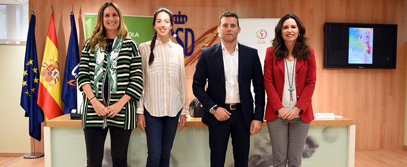 Carmen Cabrera, Alejandra Quereda, Jesús Carballo y Susana Pérez-Amor. Fuente: CSD