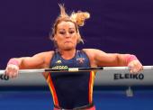Lydia Valentín conquista su tercer título europeo en -75 kilos