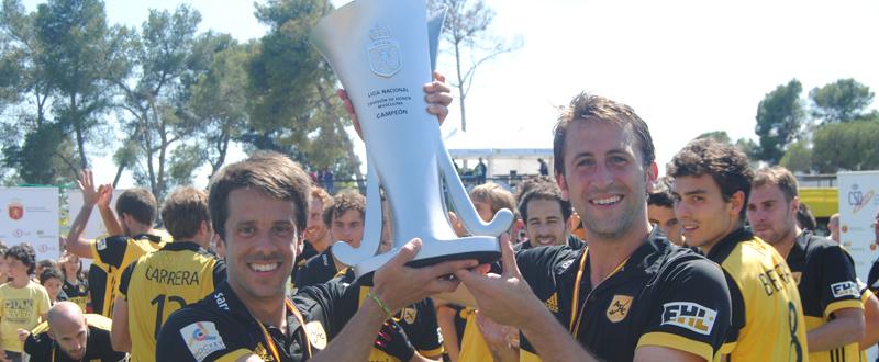 El Atlètic Terrasa se proclama campeón de la liga de hockey hierba tras ganar al Club Egara. Fuente: rfeh