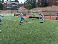 La Liga de fútbol para ciegos se tiñe de blanquiazul