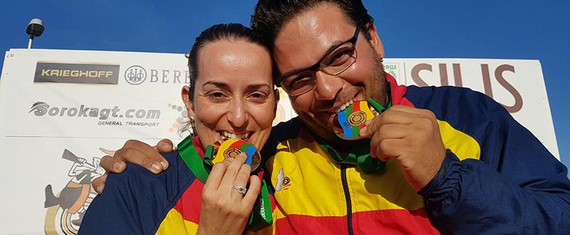 Fátima Gálvez y Alberto Fernández. Fuente: AD