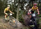 José Luis Carrasco y Rocío Martín vencen en la Vuelta Andalucía MTB 2017