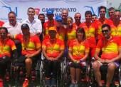 Cártama y Alhaurín coronan a los campeones de España de ciclismo adaptado