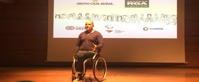 Ismael Garcia en Granada / Imagen: AD