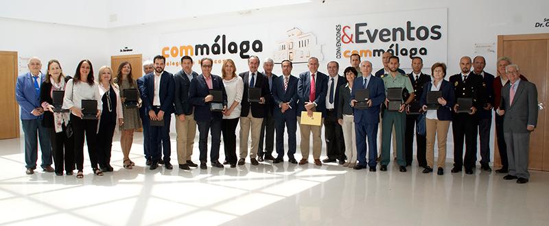 Premiados en Málaga de RCP. Fuente: AD