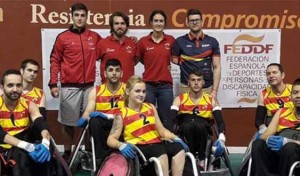 Cataluña mantiene su hegemonía en rugby en silla