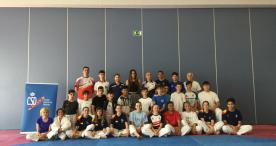 Eva Calvo, referente para las promesas del taekwondo español