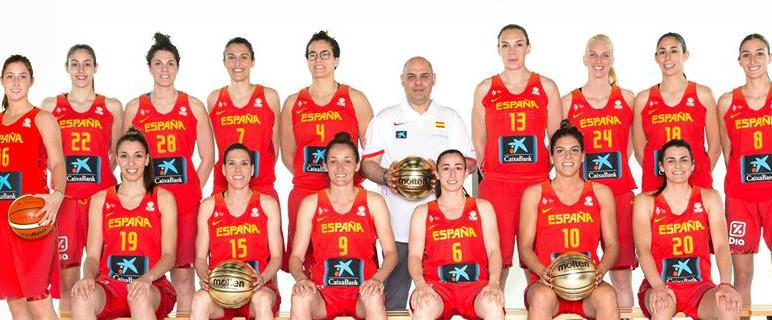 Selección española de baloncesto femenino / Foto: FEB