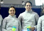 El equipo español de sable femenino alcanza la 6ª posición en Tiflis