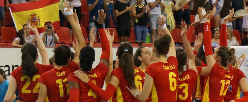 Equipo español de Voleibol Femenino / Foto: CEV