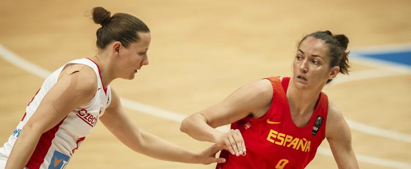 Laia Palau en acción / Foto: FIBA