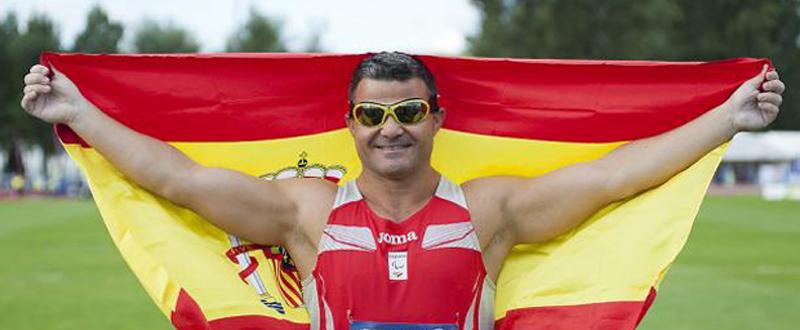 El valenciano David Casinos deja el atletismo y competirá en ciclismo con el objetivo de llegar a Tokio 2020. Fuente: AD